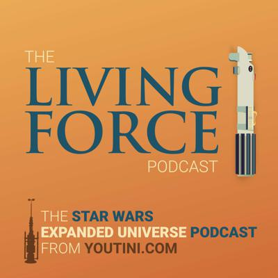 The Living Force Podcast will guide you on your journey through the Star Wars Expanded Universe. Brought to you by Youtini.com, the premier site for all things Star Wars books and comics, The Living Force is here to make the EU accessible and fun to explore, with a focus on a positive, uplifting community for all fans. Check out our exhilarating Discord community where you can join in the ever-changing world of Star Wars books and comics at youtini.com/discord or join our Patreon for a ton of additional content. Wherever you are in the galaxy, you won't journey alone with The Living Force Podcast!
