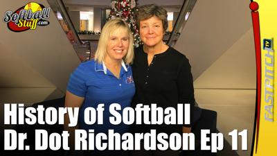 Cover art for Episode 299 - History Of Softball Show 11 -  Carol Hutchins