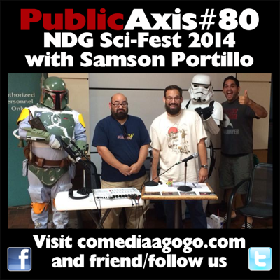 Cover art for Public Axis #80: NDG Sci-Fest 2014 with Samson Portillo