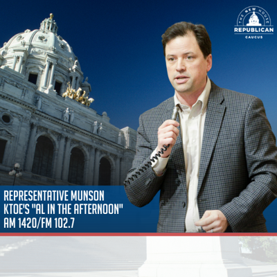 Cover art for Representative Jeremy Munson Discusses the Lawsuit Against Governor Walz