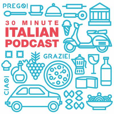 Boost your confidence in speaking Italian in 30 minutes or less with the 30 Minute Italian Podcast. We cover expressions, sometimes sexy grammar, and culture through personal travel stories and detailed examples.