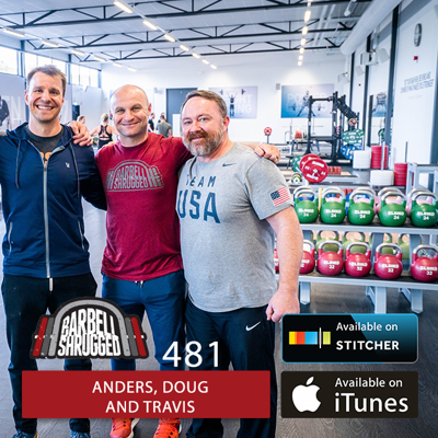 Cover art for How to Track Workouts and Objectively View Progress in the Gym w/ Anders Varner, and Doug Larson, and Travis Mash - Barbell Shrugged - #481