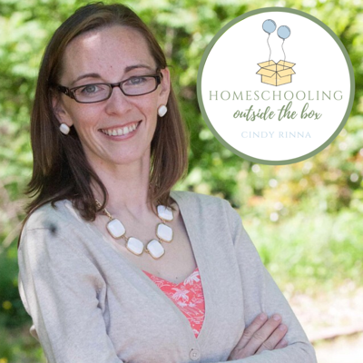 Homeschooling Outside the Box is the podcast that encourages and equips moms who homeschool an outside-the-box child. Join the host, Cindy Rinna, as she talks autism, ADHD, dyslexia, Charlotte Mason, curriculum, and all the joys and challenges of homeschooling an outside-the-box child.