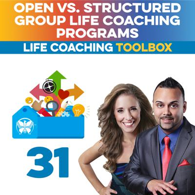 Cover art for Open vs. Structured Group Life Coaching Programs