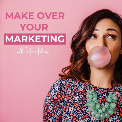 "How do I create a brand that stands out? How do I write copy that connects and converts? How can I attract dream clients and make sure my offers make that money, honey?  Welcome to the Make Over Your Marketing Podcast, where we'll dive into all of this and more. Every week, host and copywriter Erika Holmes delivers mini workshops, step-by-step guides and before and after case studies that'll inspire you make over your own marketing.   Whether you're launching a new business, course, product or service, or you're ready to ""level up"" your brand, master email marketing, or troubleshoot an offer that just isn't working, you'll find all the tactics and motivation you need right here.   On Make Over Your Marketing, you can expect Copy and Website Makeovers (duh), tactical tips, and step-by-step guides designed to make sure you know how to talk about your product, course or service like a pro. You'll walk away from every episode with a few aha moments and actionable tips you can start using in your marketing ASAP.   Ready for your makeover?"