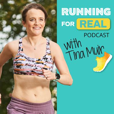 Who can I trust for the best running tips? How do I make myself mentally tougher? How do I stop comparing myself to other runners, and instead, build my confidence? And of course, How can I get faster while also enjoying my running more? Welcome to The Running For Real Podcast where we will answer these questions and many more! Every week, 2:36 marathon runner and mom Tina Muir will bring you sports psychologists, doctors, scientists, dietitians, elite runners, strength training coaches, running form experts, and of course, everyday runners with inspiring stories to motivate you and help YOU run YOUR best! Tina shares tangible tips and hacks that she used to reach her potential as a runner and build that runner grit to be your best. Along with sharing her best kept secrets, and postpartum journey, she interviews the best in the industry (Kara Goucher, Dean Karnazes, Dr. Rich Willy, Sally Bergesen, Manal Rostom, Chrissie Wellington, Jared Ward and many more) who will share their best advice and be real with you in a way you have never heard before. With over a million downloads and counting, the Running For Real Community is getting bigger every day. It is YOUR TURN to hear from the experts, get inspired, and reach your biggest goals. Ready? Let's get started my friend!