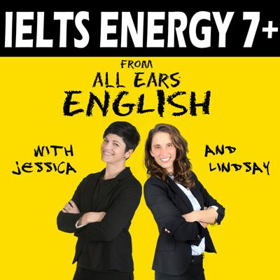 Do you want to get a band 7 on the IELTS exam? IELTS exam preparation doesn't have to be hard or boring! It can be fun! Lindsay and Jessica from All Ears English are back with a new way to help you achieve the IELTS score you need for the General or the Academic exam!    We'll give you IELTS strategies, practice, tips, tricks, and secrets using real English examples. We'll show you how to take control of the Speaking Section by reducing anxiety, panic, and fear. You'll learn what to do when your mind goes blank, how to organize your thoughts and how to use intonation, English pronunciation and native English vocabulary such as phrasal verbs and idioms to impress the Examiner.   You'll find out which grammar points you should use in the Speaking Test and which ones you should avoid to get a band 7. You'll also get guidance on how to prepare for Writing Task 1 and Writing Task 2 with help on the opinion essay, graphs and charts, and the argument or discursive essay. You'll get tips on how to succeed with IELTS listening comprehension strategies and how to get the highest possible score on the reading test. You'll find out how to use practice tests to get the maximum score increase to go from a 5 or 6 to a 7 or higher.  We'll show you the common mistakes that most students make on test day, what to expect on the day of the exam, and how the exam is structured. You'll get the best possible resource recommendations from Jessica Beck who has taught IELTS for more than 14 years.