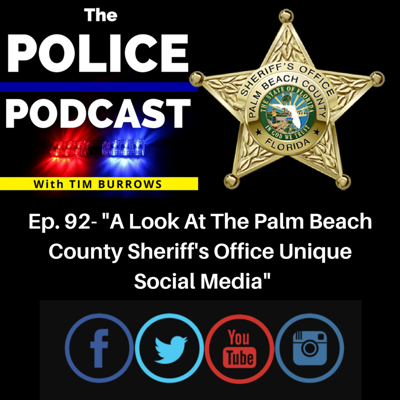 Cover art for The Palm Beach County Sheriff's Office On Social Media