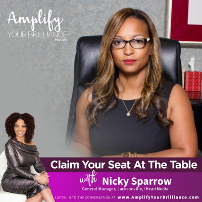 Cover art for S3E19: Claim Your Seat At The Table with Nicky Sparrow