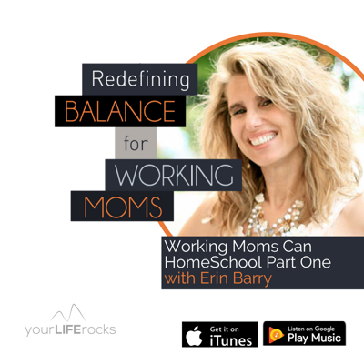 Cover art for Working Moms Can HomeSchool Part One with Erin Barry