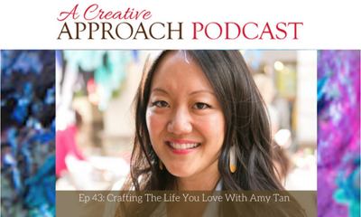 Cover art for 43: Crafting The Life You Love With Amy Tan