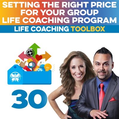 Cover art for Setting the Right Price for Your Group Life Coaching Program