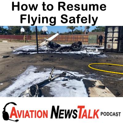 Cover art for 150 Getting Back into Flying Safely, Fatal Cirrus SR20 Stall/Spin Accident + GA News