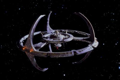 Cover art for Deep Space Nine is About Outsiders