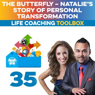 Cover art for The Butterfly – Natalie's Story of Personal Transformation