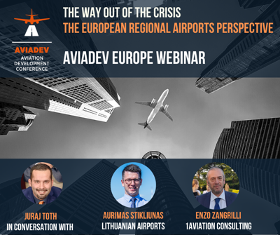 Cover art for Episode 67: The Way out of the crisis - The perspective for European regional airports