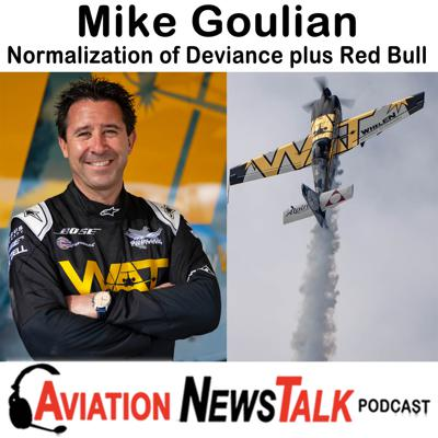 Cover art for 153 Normalization of Deviance and Red Bull Air Races - Interview with Mike Goulian