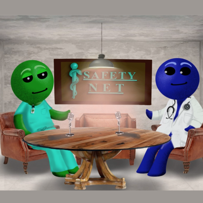 Safety Net: Behind the Scenes of Emergency Medicine & Healthare in America. Podcast & YouTube with unfiltered discussions by real ER doctors with fake avatars.