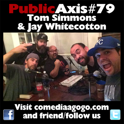 Cover art for Public Axis #79: Tom Simmons & Jay Whitecotton