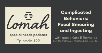 Cover art for #122 - Complicated Behaviors: Fecal Smearing and Ingesting