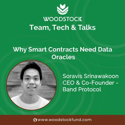 Cover art for Why smart contracts need data oracles - with Band Protocol