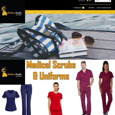 Couture Scrubs and Fashion