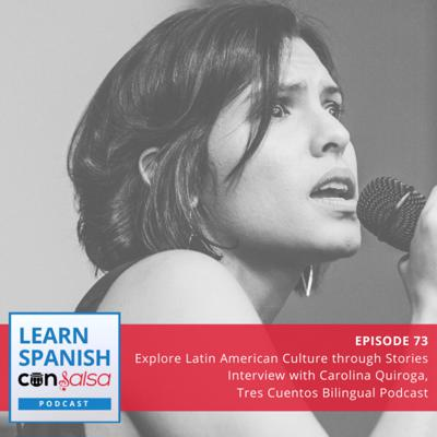 Cover art for Explore Latin American Culture through Stories (Interview With Carolina Quiroga, Tres Cuentos) ⏵73