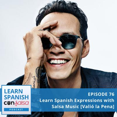 Cover art for Learn Spanish Expressions with Music [Valió la pena]⏵76