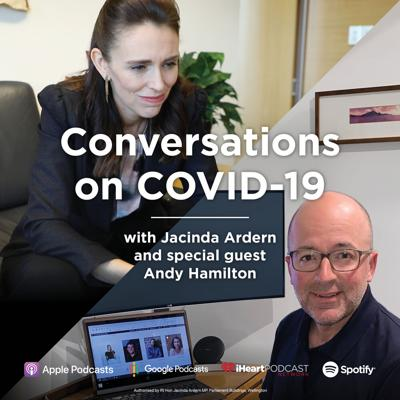 Cover art for Prime Minister Jacinda Ardern talks with Andy Hamilton