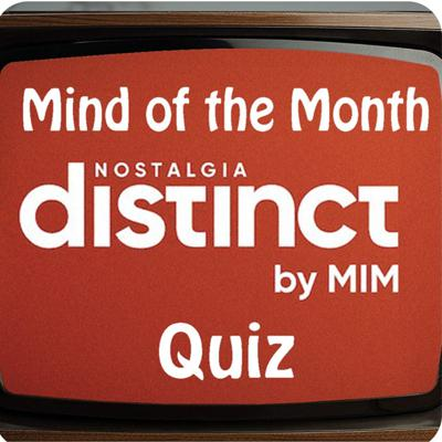 Cover art for Distinct Nostalgia Mind of the Month Quiz - Series 3 Final