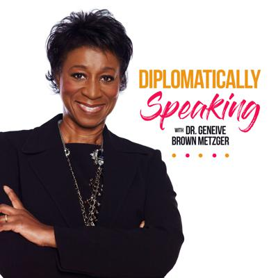 The Caribbean foreign affairs podcast, Diplomatically Speaking, hosted by former senior Caribbean diplomat, Dr. Geneive Brown Metzger, is a bi-weekly program featuring candid conversations with leaders on the front line of U.S. and Caribbean affairs—diplomats, economists, government and business leaders—about bi-lateral relations, U.S. Asia geopolitical tensions over the region, foreign trade, and why the U.S. should deepen its relationships with the Caribbean in the post-pandemic era.  Dr. Metzger will also discuss fresh ideas coming from the region for new and diverse economic opportunities and innovative ventures, and a what could be a paradigm shift in Caribbean economic strategy going forward.  The podcast will keep you up to speed on issues about the most pressing matters of our time concerning the region and how they connect to you.