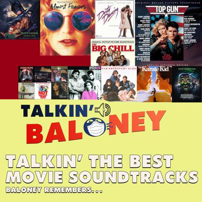 Cover art for Talking The Best Movie Soundtracks