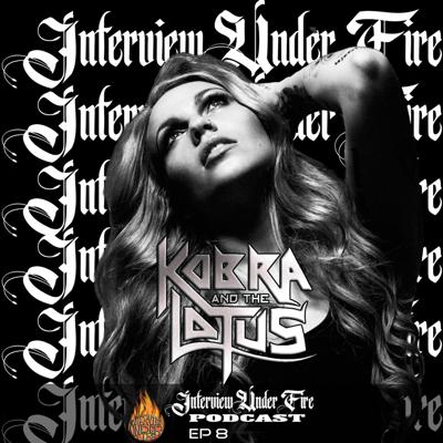Cover art for S.01 E.08 - Kobra Paige with special guest Tommy Karevik of Kamelot