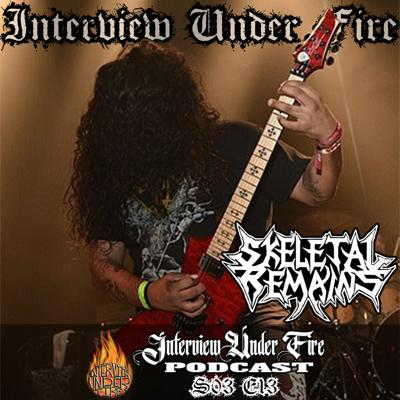 Cover art for S.03 E.13 – Chris Monroy of Skeletal Remains