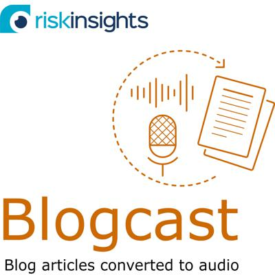 Risk Insights Blog posts - converted to audio (spoken word versions of written blog articles).  Articles for risk, internal audit and performance audit professionals, largely with a focus on the use of data and analytics within audit.