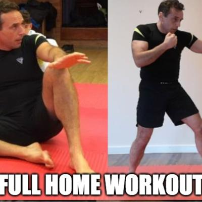 Cover art for Full Home Workout