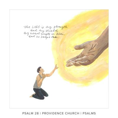 Cover art for Psalm 28