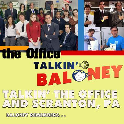 Cover art for Talking The Office and a Tour of Scranton, PA