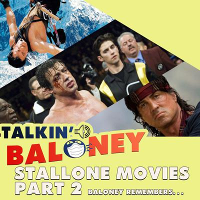 Cover art for Talkin' Stallone Movies Part 2 - plus Baloney Nation:Civil War