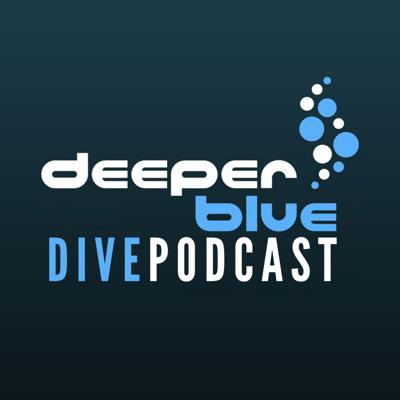"Cover art for DeeperBlue - Welcome to the DeeperBlue Podcast, and ""Our Planet"" underwater filmmaker Hugh Pearson"
