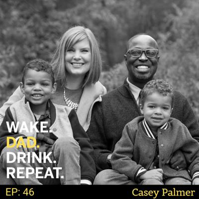Cover art for #blackdadworries with Casey Palmer