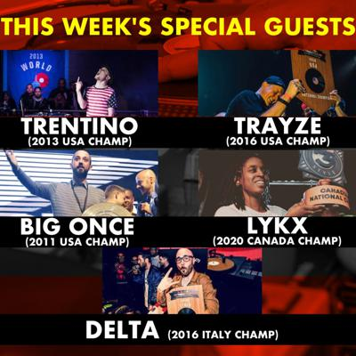 Cover art for Red Bull 3Style Champions: Guest DJs  Trayze, Trentino, Big Once, Delta, Lykx
