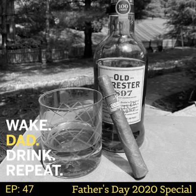 Cover art for Wake. Dad. Drink. Repeat. Father's Day Special 2020