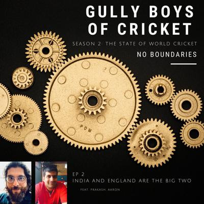 Cover art for India and England are the Big Two
